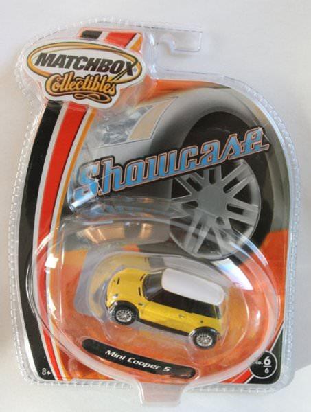 Matchbox | BMW Mini Cooper S yellow USA