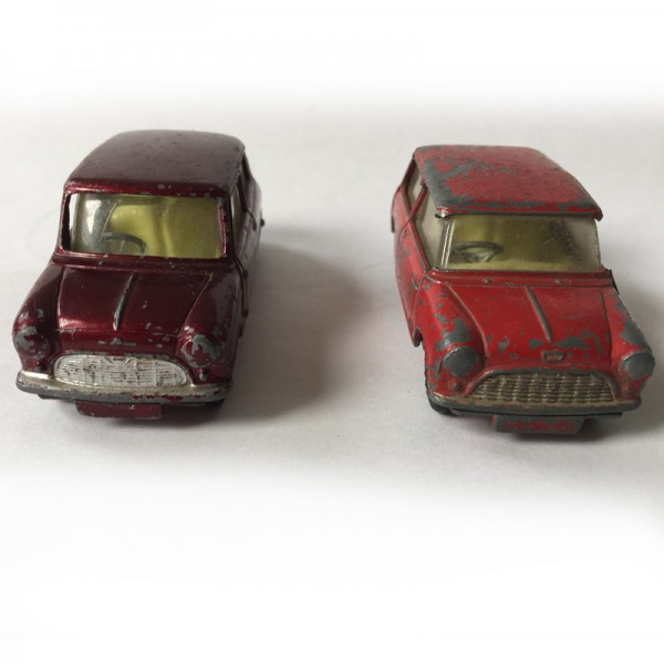 Corgi Toys | No. 226 Mini Morris Minor & No. 225 Austin Seven Bastler