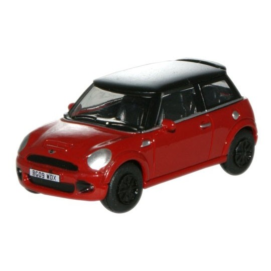 Oxford Diecast | BMW Mini Cooper S red