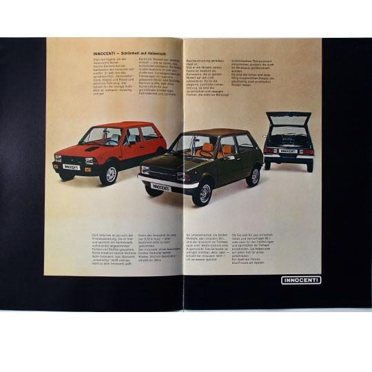 Innocenti 90L & De Tomaso Prospekt