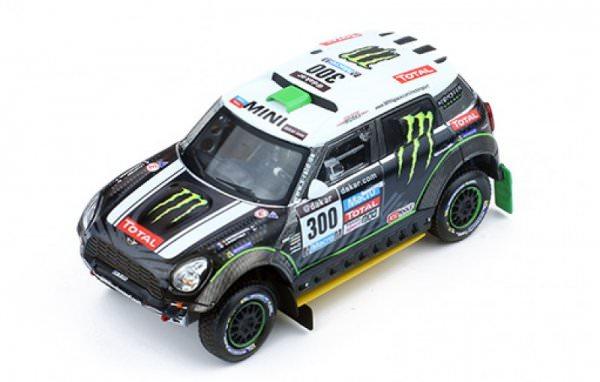 IXO | MINI All 4 Racing #300 2nd Dakar 2014