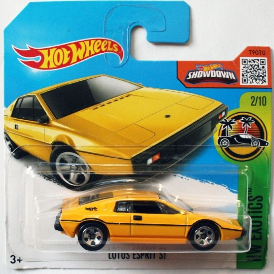 Hot Wheels | Lotus Esprit S1 gelb