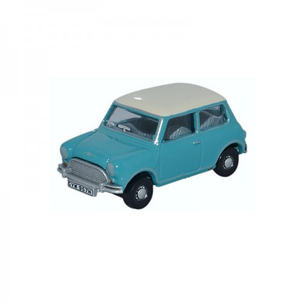 Oxford Diecast | Austin Mini Cooper Surf Blue