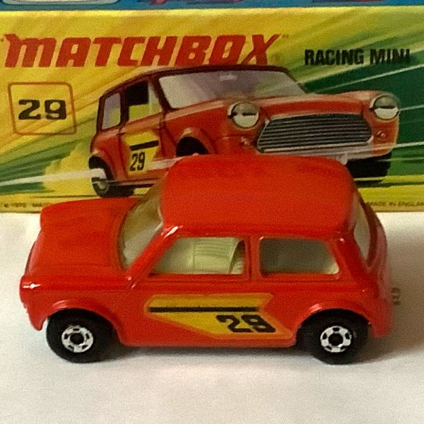 Matchbox | Superfast Racing Mini No 29 hellrot #26