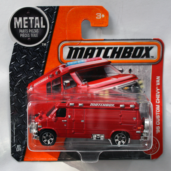 Matchbox | '95 Custom Chevy Van rot