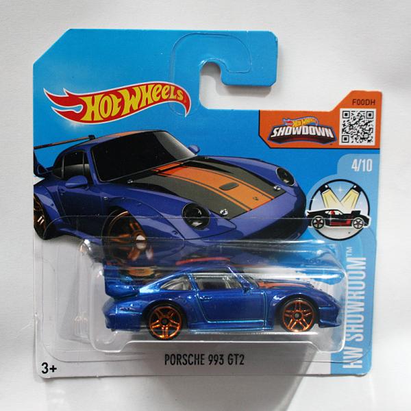 Hot Wheels | Porsche 993 GT2 blaumetallic