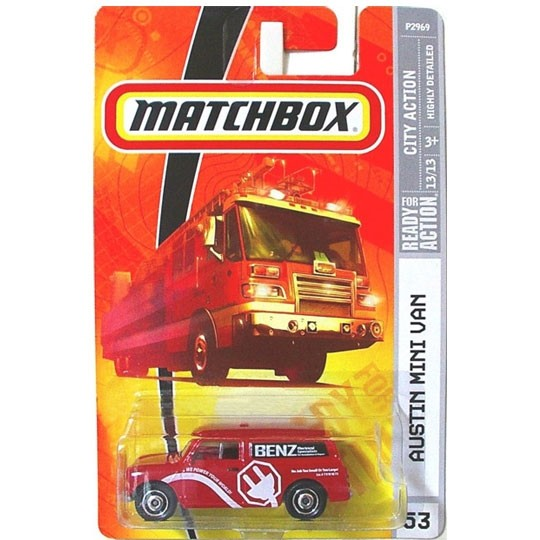 Matchbox | Austin Mini Van Benz US