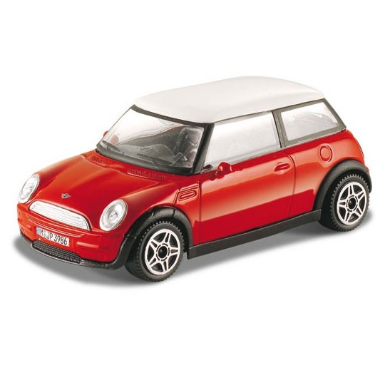 Bburago | BMW Mini Cooper red