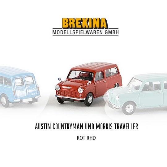 Brekina | Austin Mini Traveller karminrot RHD