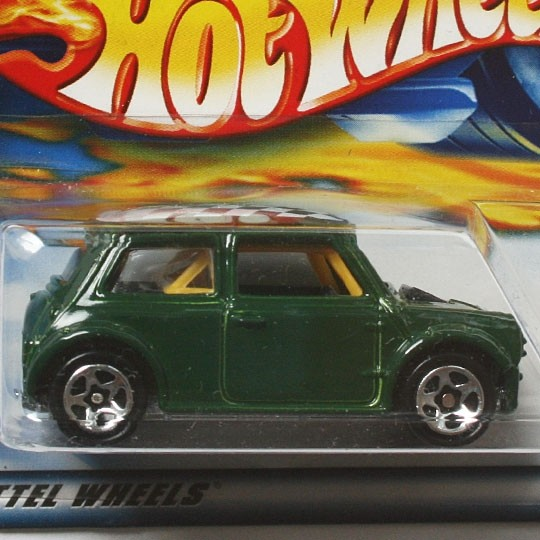 Hot Wheels | Mini Cooper grün 2