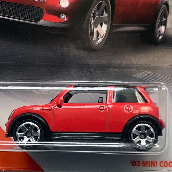 Matchbox | MINI Cooper S rot/schwarz US Karte