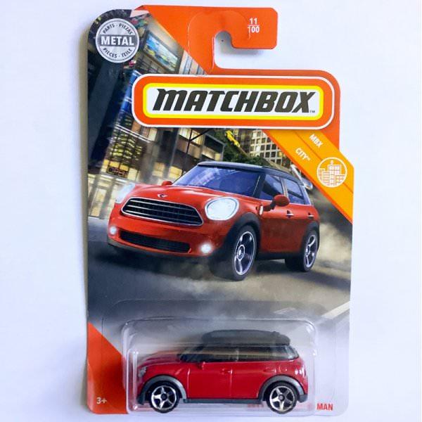 Matchbox | '11 MINI Countryman red US
