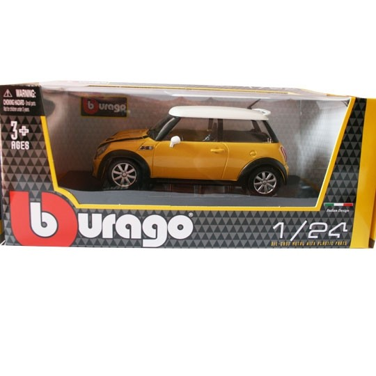 Bburago | BMW MINI Cooper S yellow