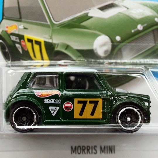 Hot Wheels | Morris Mini #77 grün DE