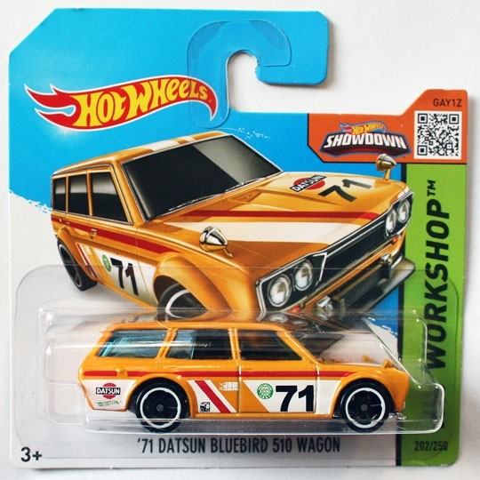 Hot Wheels | Datsun Bluebird 510 Wagon