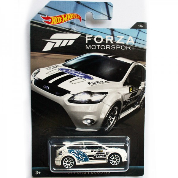 Hot Wheels | Forza Motorsport '09 Ford Focus RS weiß