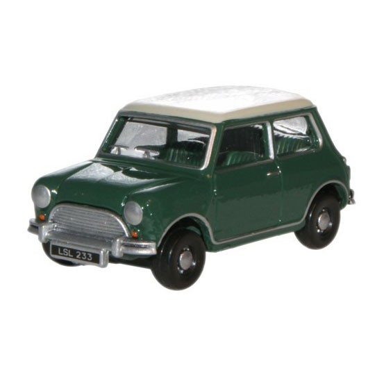 Oxford Diecast | Austin Mini grün