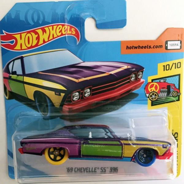 Hot Wheels   '69 Chevelle SS 396 Art Cars, bunt