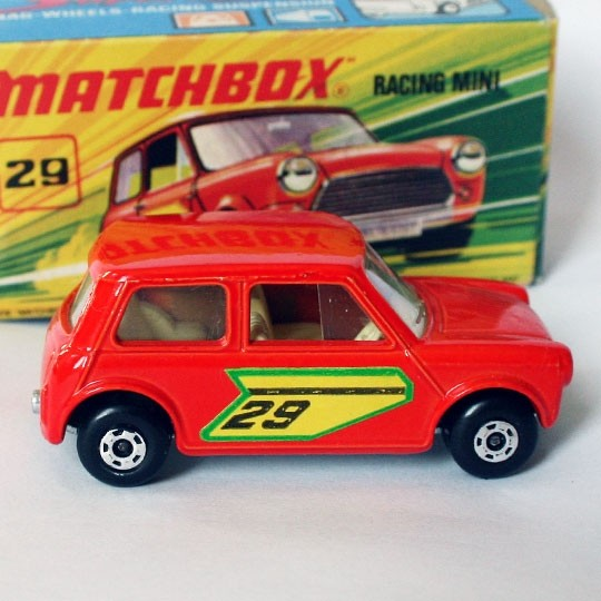 Matchbox | SF Racing Mini No 29 hellrot mit Box