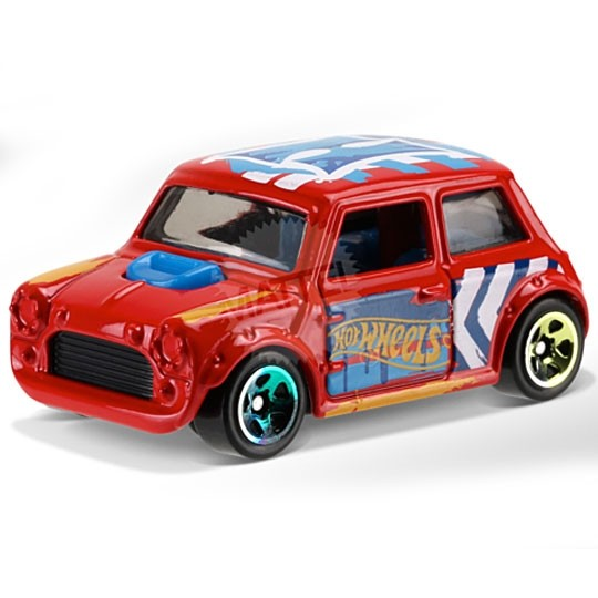 Hot Wheels | Morris Mini Art Car rot