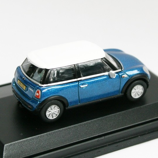 Oxford Diecast | BMW Mini Cooper S blaumetallic