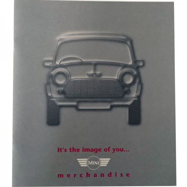 Brochure Rover Mini and Cooper Merchandise from 1996