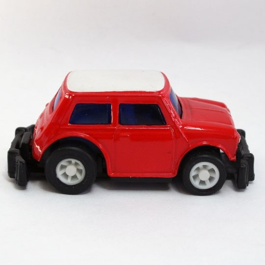 China | Mini mit Rückzugsmotor rot