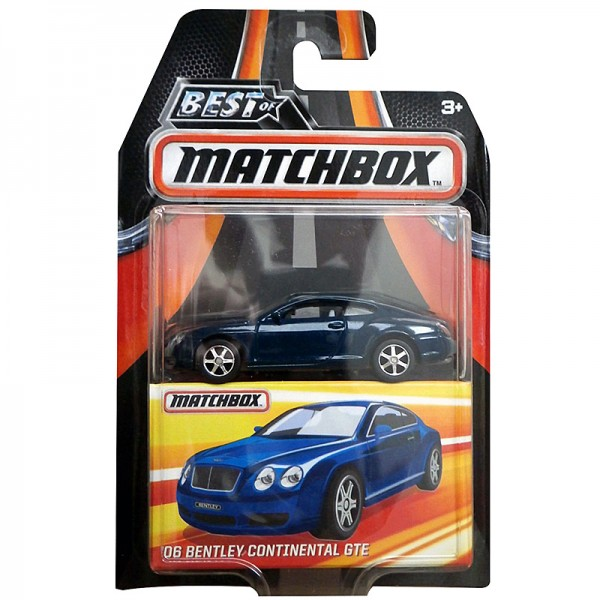 Matchbox | '06 Bentley Continental GTE petrol