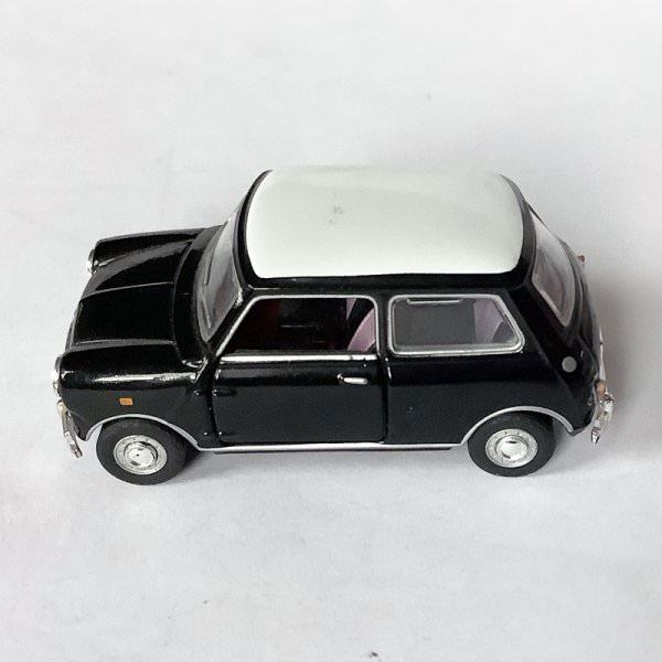 Cararama | Mini Cooper schwarz/weiß
