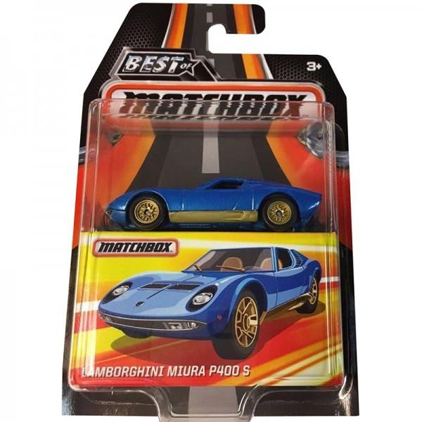 Matchbox | Lamborghini Miura P400 S blau