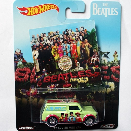 Hot Wheels | 67 Austin Mini Van The Beatles