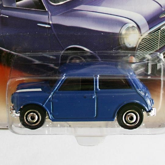 Matchbox | Austin Mini Cooper S blau mit weißen Streifen