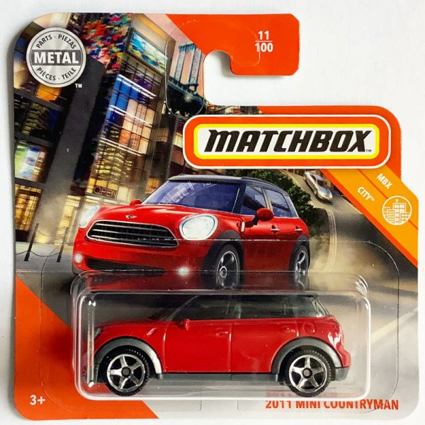 Matchbox | '11 MINI Countryman rot