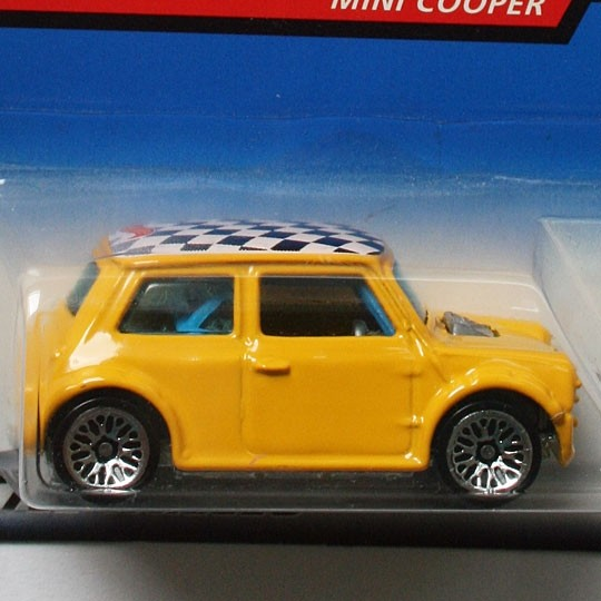 Hot Wheels | Mini Cooper gelb First Editions US Mattel