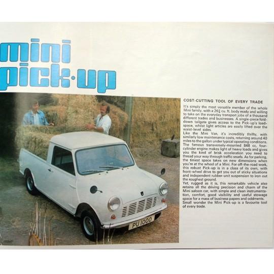 Mini Van & Pickup Prospekt
