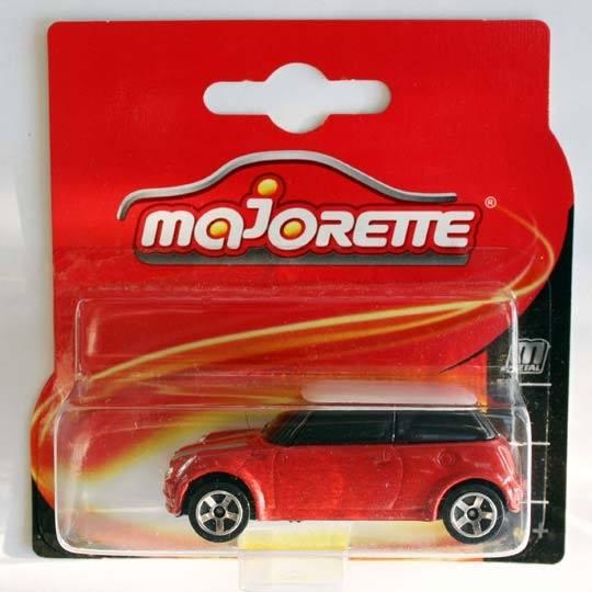 Majorette | BMW Mini Cooper rot/weiß Blister