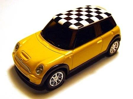 Norev | Mini Cooper S gelb