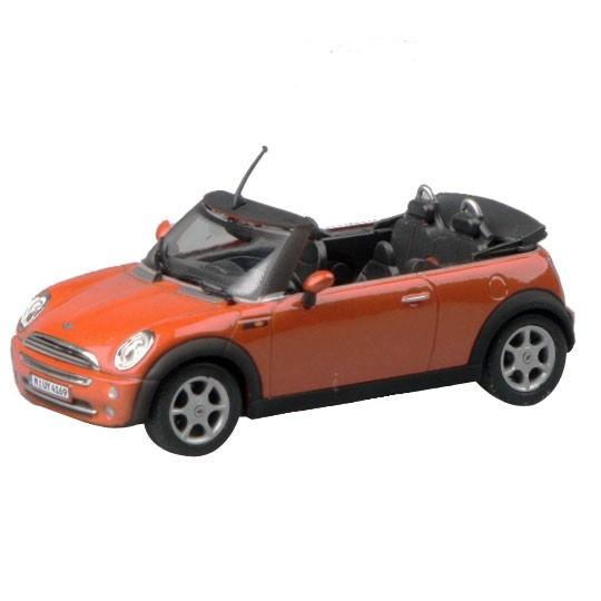 Cararama | Mini Cooper Cabrio dunkelorange