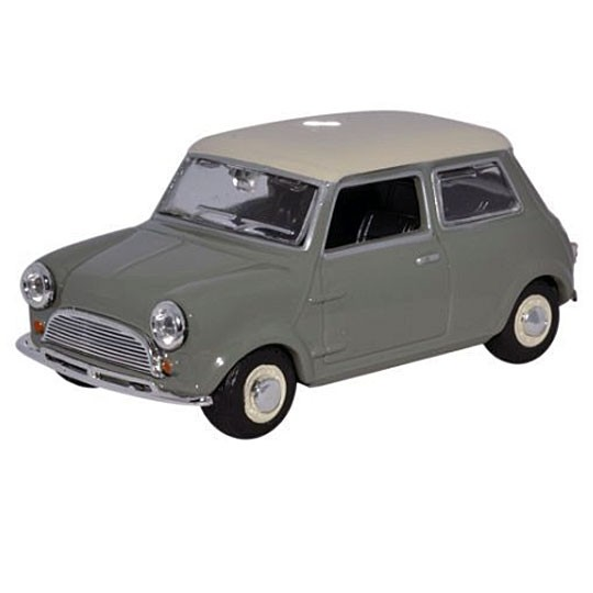 Oxford Diecast | Mini Cooper grau