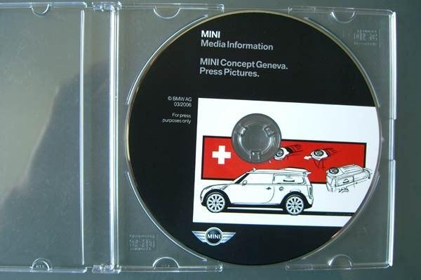 Foto-CD der BMW Mini Kombi Studie