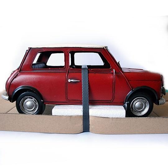 Blech | Mini Modell aus Blech rot