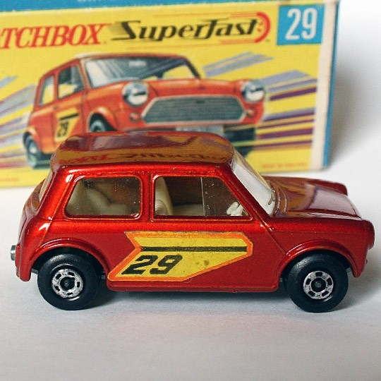 Matchbox | SF Racing Mini No 29 rotmetallic