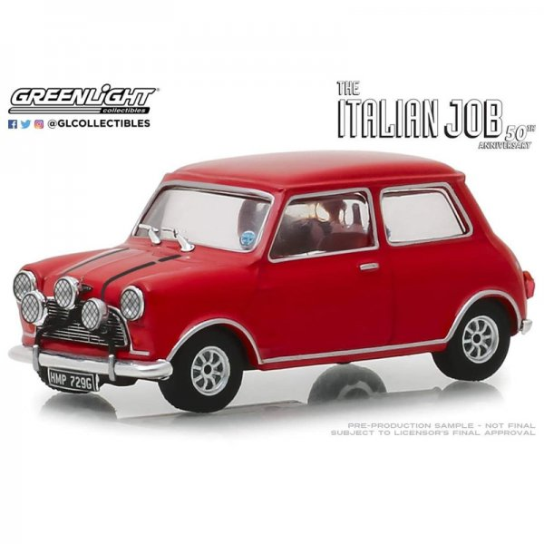 "Greenlight | 1967 Austin Mini Cooper S 1275 Mkl ""The Italian Job"" red"