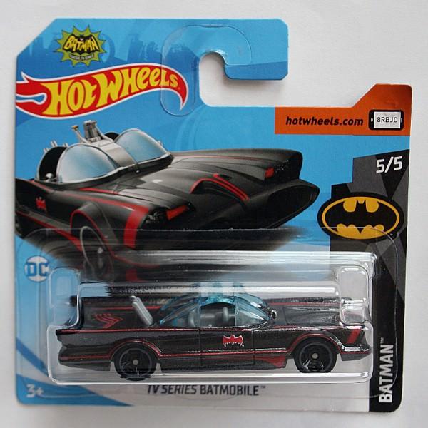 Hot Wheels | TV-Series Batmobil schwarz matt