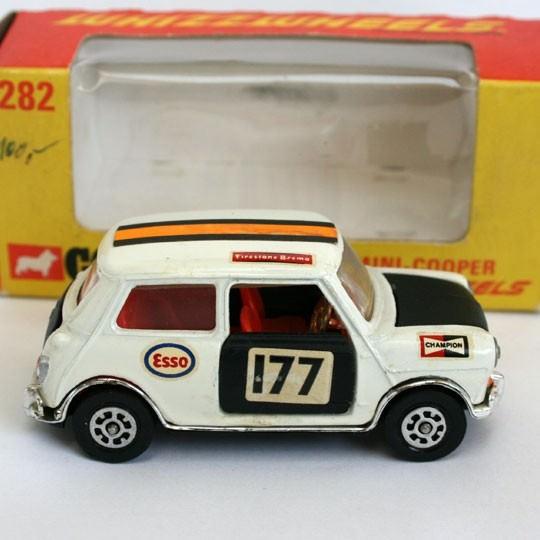 Corgi Toys | No 282 Mini Cooper weiß