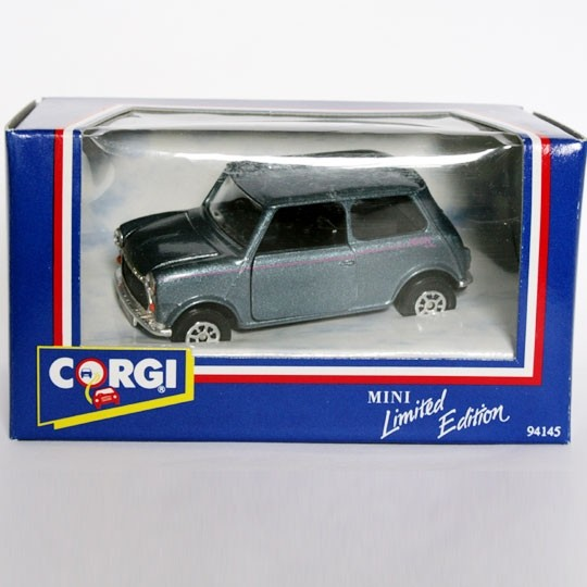 Corgi | Mini Neon metallic blue