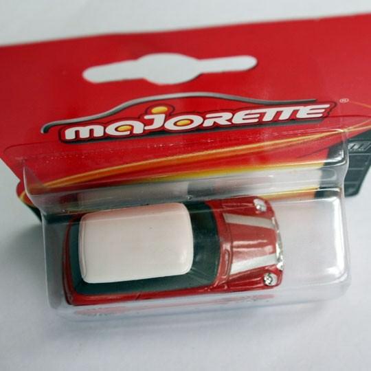 Majorette | BMW MINI Cooper rot/weiß Blister 2