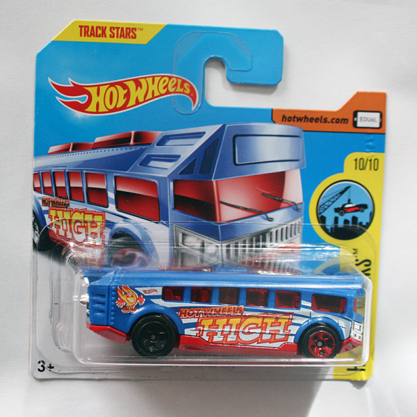 Hot Wheels | Hot Wheels High Bus, blau / rot