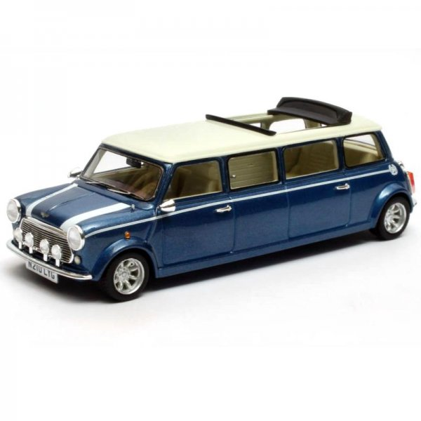 Matrix | Mini Cooper Limousine blau