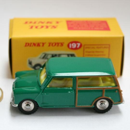 Atlas | Dinky Morris Mini Traveller Repro grün